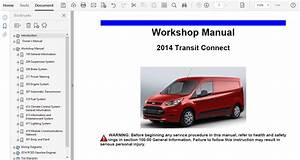 2014 Ford Transit Connect Repair Manual