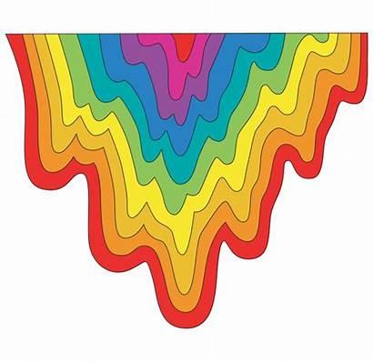 Jen Stark Rainbow Giphy Gradient Sticker Tweet