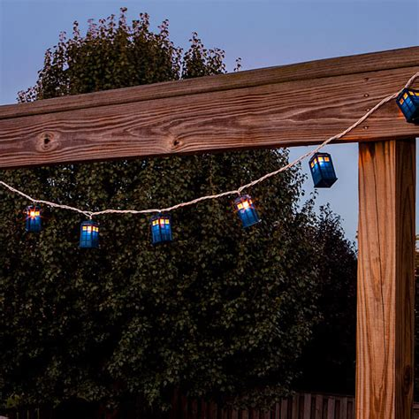 tardis string lights i know what s going on my christmas