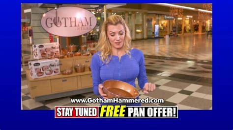 gotham steel hammered collection tv commercial  egg
