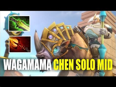 mid chen wagamama no carry team epic gameplay dota 2 youtube