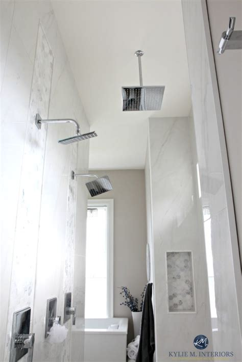 walk  shower  ensuite bathroom rainhead double shower