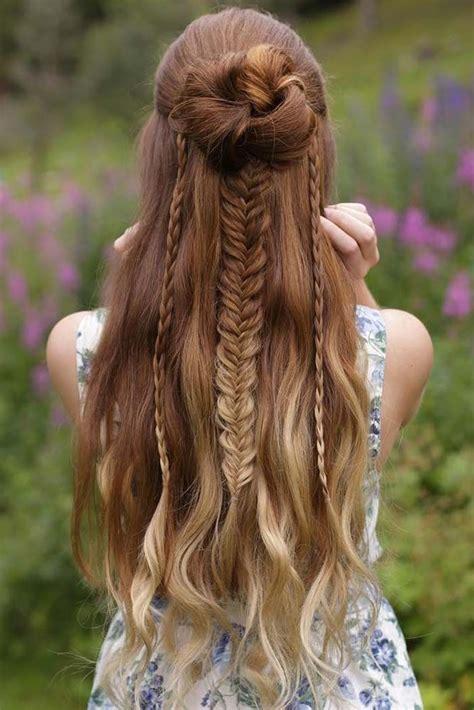 long braided hairstyles ideas  pinterest