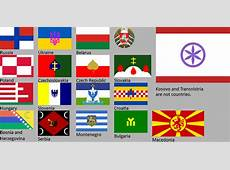 New Slavic flags by hosmich on DeviantArt