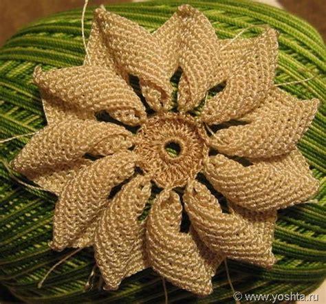 "Irish Crochet  Фантазия 6 ""Ромашка""  Уголок Yoshta"