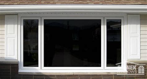 white casement windows      configuration  middle window  fixed learn