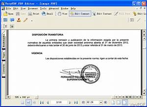 what program can edit a scanned document and then print it With editing text in a scanned pdf document