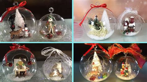 diy clear glass ornaments  christmas   year