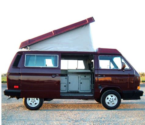 volkswagen westfalia cer 1990 volkswagen t3 westfalia cer german cars for sale