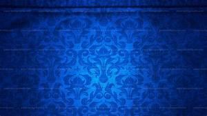 Background pattern damask canvas blue - 1416115