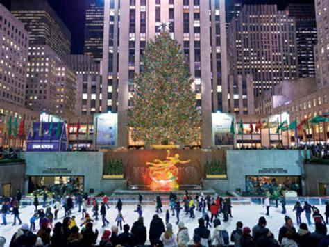 when does christmas start in new york rockefeller center tree things to do in new york