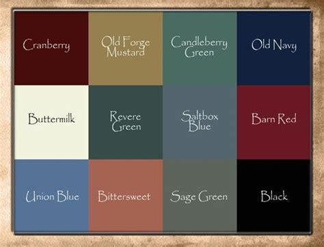 raystown primitives color choices household crafts primitive paint colors primitive colors
