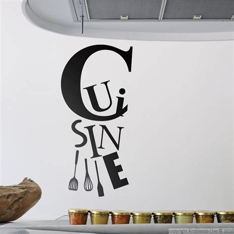 stickers muraux cuisine home design architecture