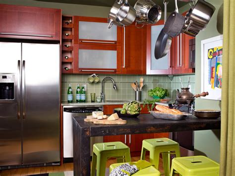living room kitchen designs small kitchen cabinets pictures ideas tips from hgtv 7142