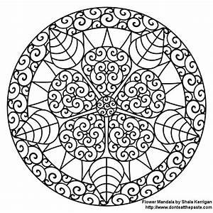 Don't Eat the Paste: Mandalas-coloring pages