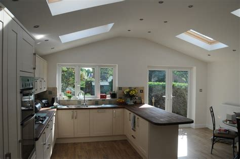 kitchen extensions ideas fitted kitchen in the extension kitchen diner