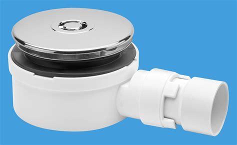 90mm Slim Shower Trap | McAlpine Plumbing Products