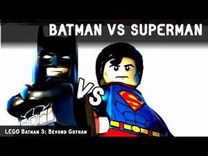 BATMAN vs SUPERMAN | LEGO BATTLES FIGHTS WALKI | LEGO ...