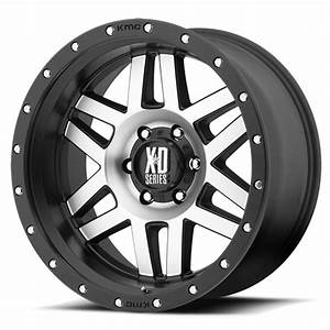 XD Series XD128 Machete 16 X 8 Inch Rims (Satin Black ...