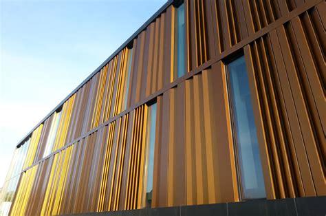 metal architecture janet wallace fine arts center