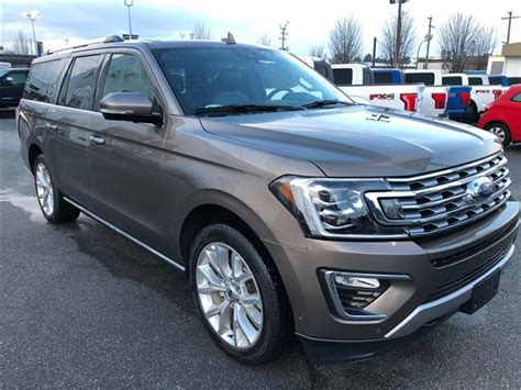 Expedition E6658m Brown 2018 ford expedition max limited at 70995 for sale in