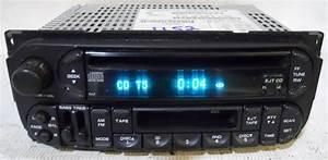 Dodge Dakota 2002 2003 2004 Factory Stereo Tape Cd Player