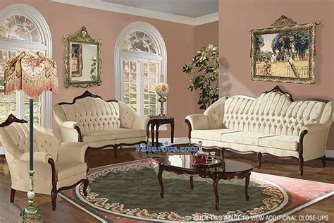 Living Room Furniture Vintage Style : How To Create A Victorian Living Room Design