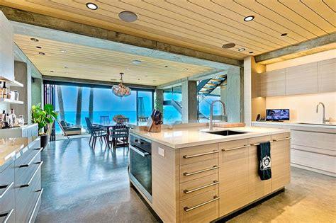 la cuisine de la mer magnifique villa de vacances à louer avec une vue