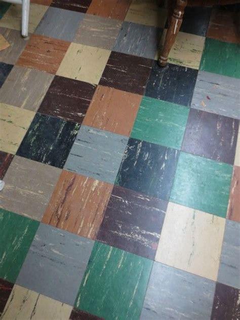 asphalt floor tiles 1950 s asphalt tile floor mid century delights