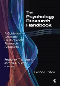 Sell  Buy Or Rent The Psychology Research Handbook  A