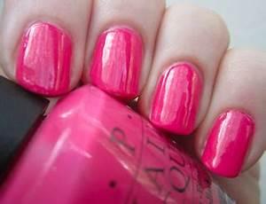 Josie s Nails OPI Strawberry Margarita