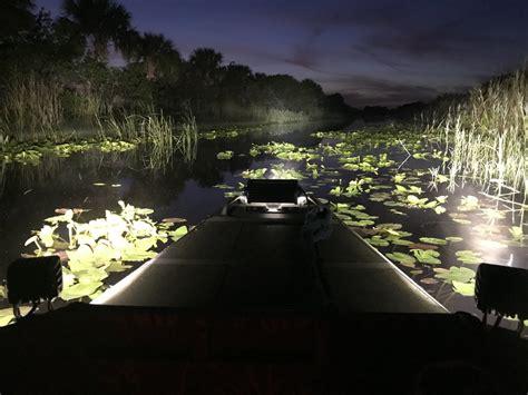 Duck Hunting Jon Boat Lighting Kit Black Oak Led