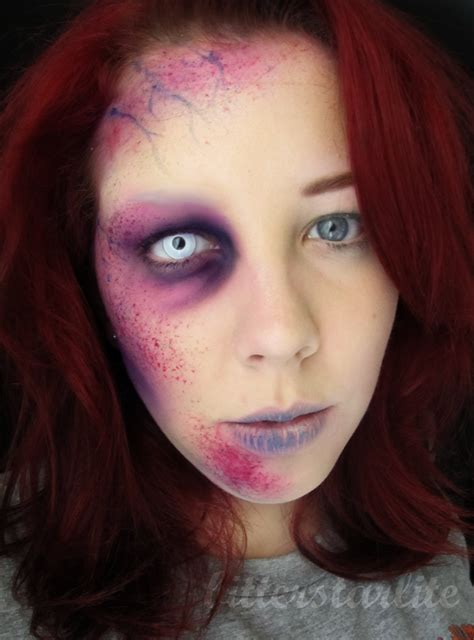 colored white out 40 makeup ideas with white out contacts