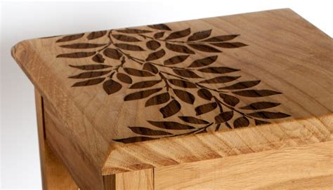 Table With Laser Engraving