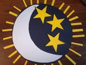 Creation Day 4 Sun Moon and Stars
