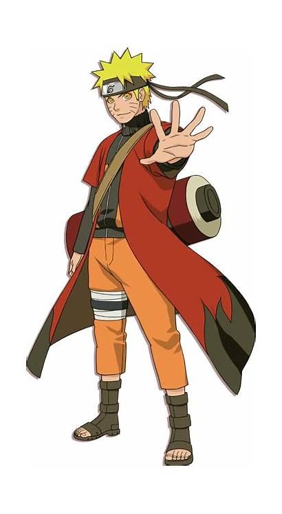 Naruto Sage Render Uzumaki Mode Gen Shippuden
