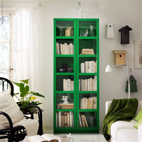 Bookcase  Green Pinterest