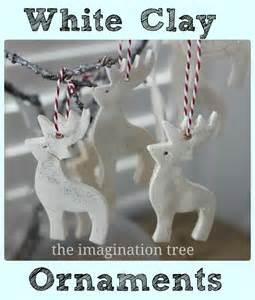 white clay ornaments tutorial the imagination tree