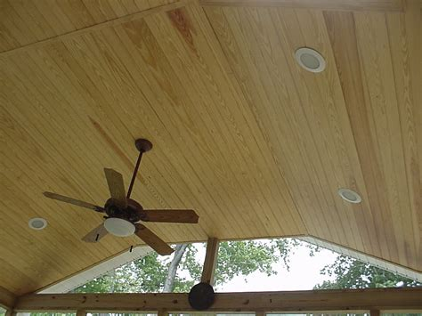 Tongue And Groove Beadboard Ceiling : Smoot Decks And Designs, Inc