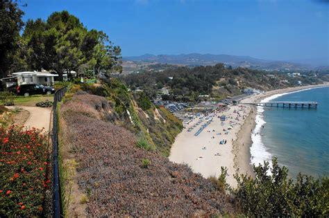 Paradise Cove, The Beautiful Coastal Scenery On The Edge