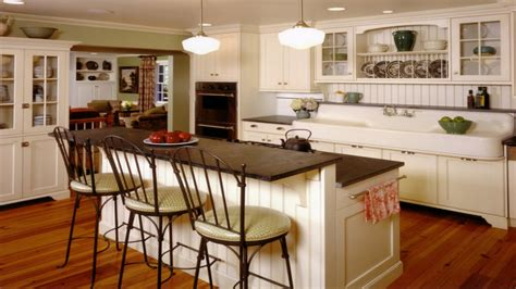 country kitchen islands with seating 35 unique farmhouse style kitchen islands 8446