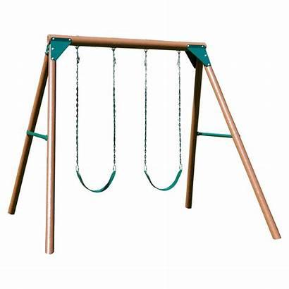Swing Slide Walmart Wooden Swings