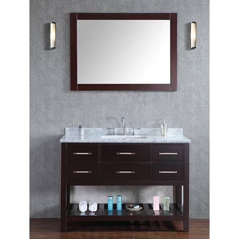 Bathroom Vanity Cabinets Perth by Buy Antonia 48 Inch Solid Wood Single Bathroom Vanity In