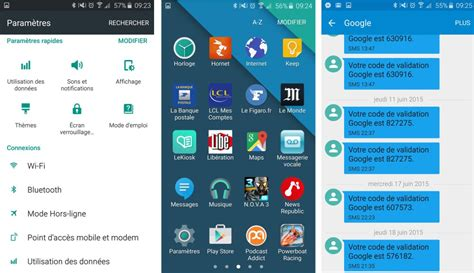 galaxy themes for android galaxy s6 le th 232 me android stock disponible dans le