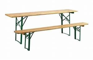 Table Et Banc En Bois : location table et banc brasserie ~ Melissatoandfro.com Idées de Décoration