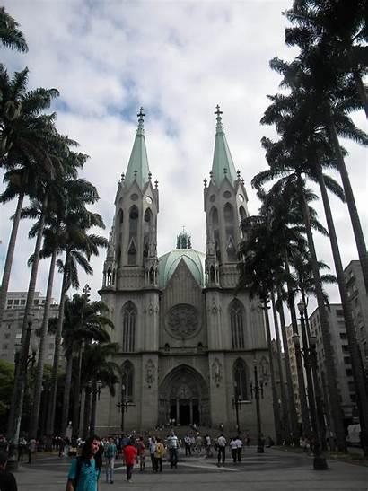 Paulo Cathedral Sao Catedral Se Da Church
