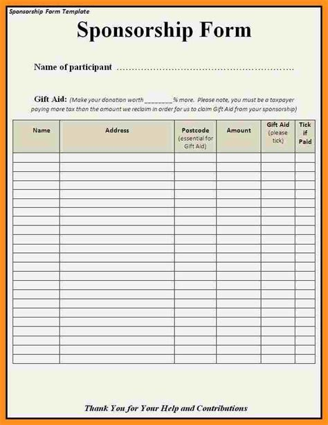 contribution templates contribution list template images free templates ideas