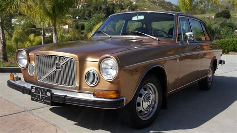 Vintage Volvos For Sale by 1973 Volvo 164e 1 Owner Classic 6 Cyl Fuel Injected Luxury