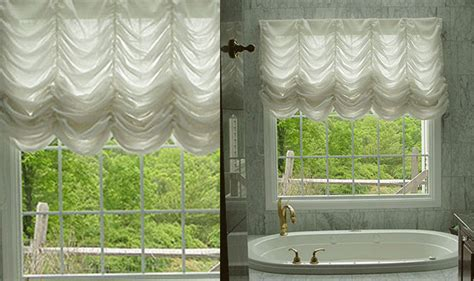 austrian shades sheer curtain panels for the right touch