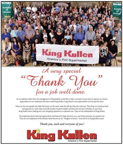 King Kullen Thanks Employees for a Job Well Done - King Kullen
